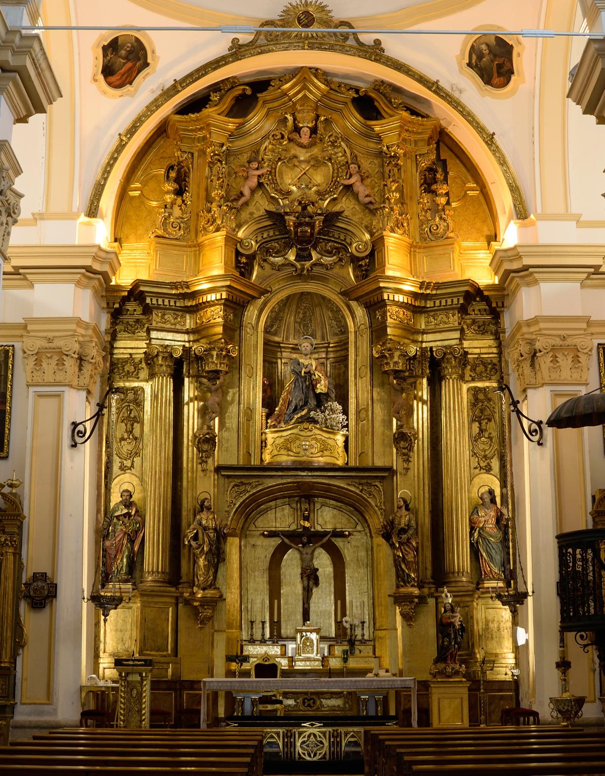 Retablo San Pedro Apostol de Murcia