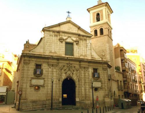 San pedro Apostol Murcia fachada exterior
